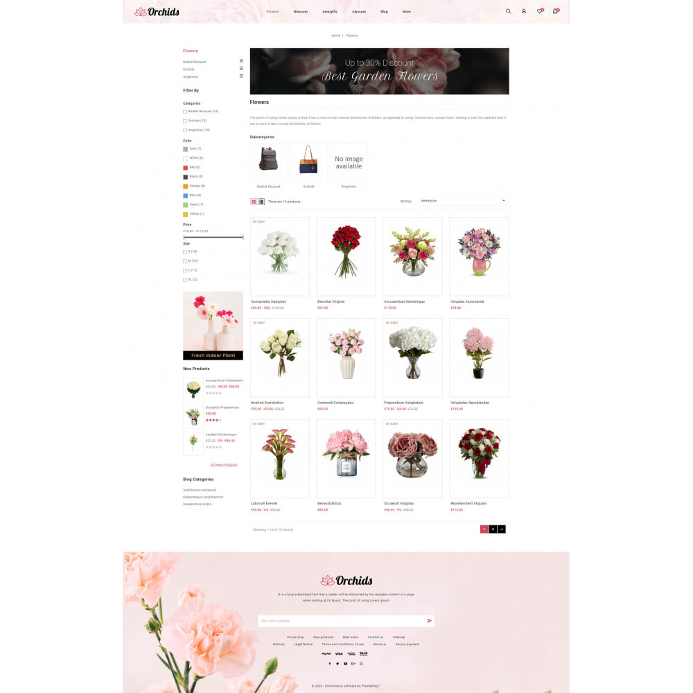 theme - Gifts, Flowers & Celebrations - Orchid - Flower Market - 3