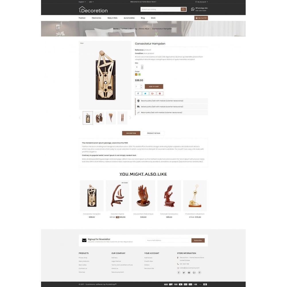 theme - Arte & Cultura - Home Decor Store - 5
