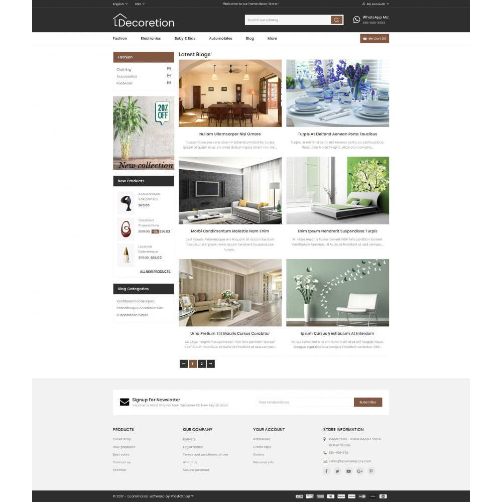 theme - Arte & Cultura - Home Decor Store - 9