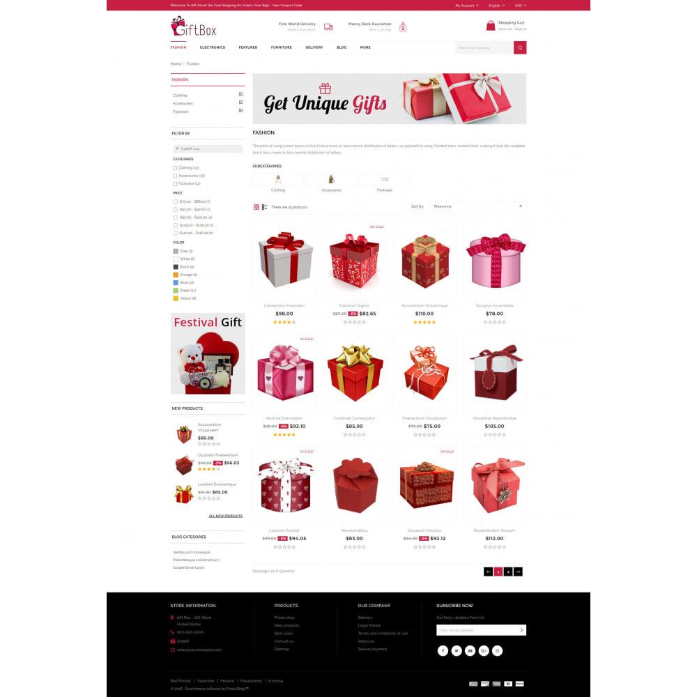 theme - Prezenty, Kwiaty & Uroczystości - Gift Box - 3