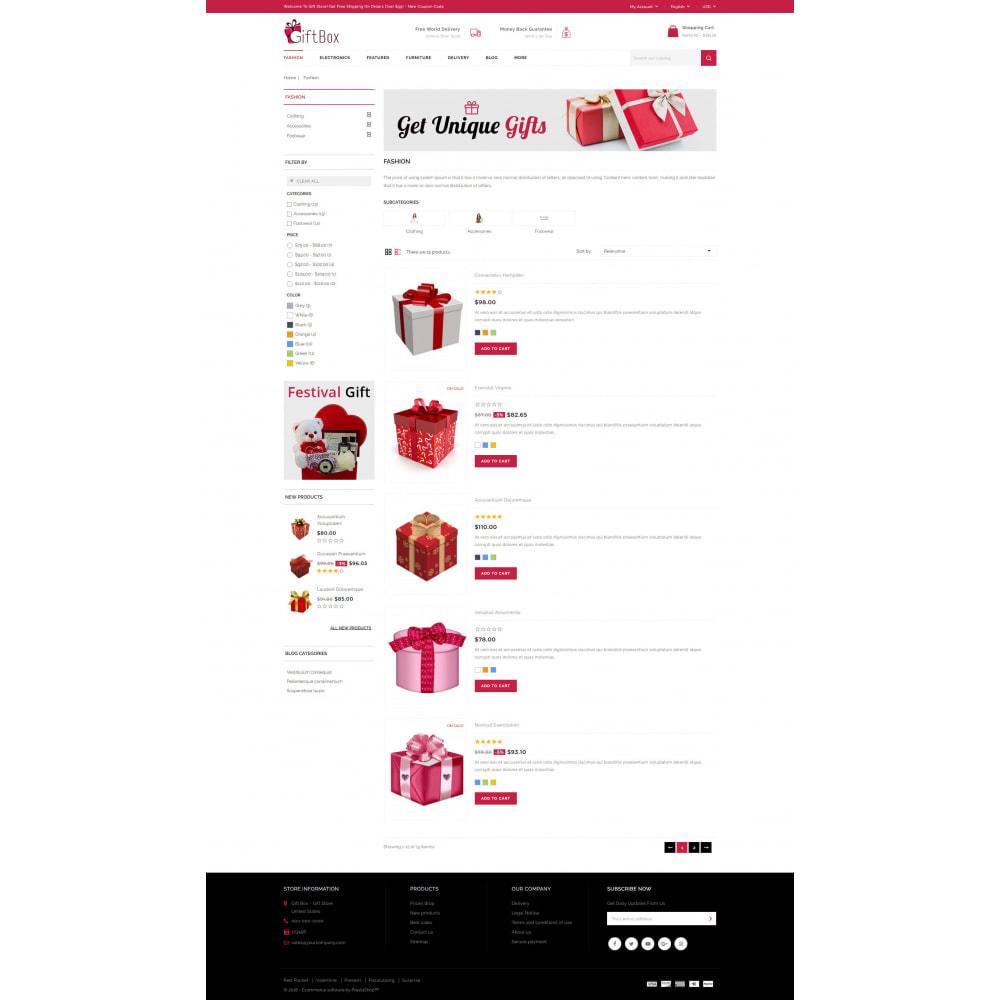 theme - Prezenty, Kwiaty & Uroczystości - Gift Box - 4