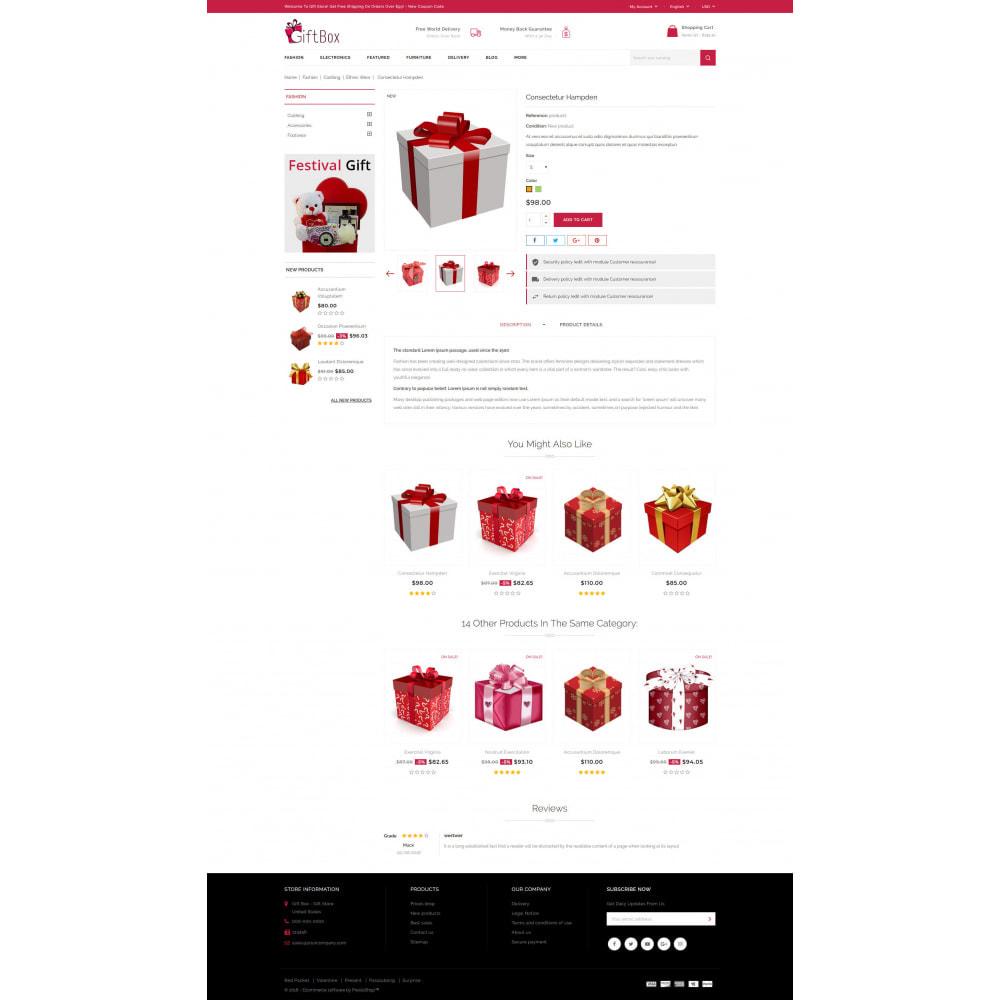 theme - Prezenty, Kwiaty & Uroczystości - Gift Box - 5