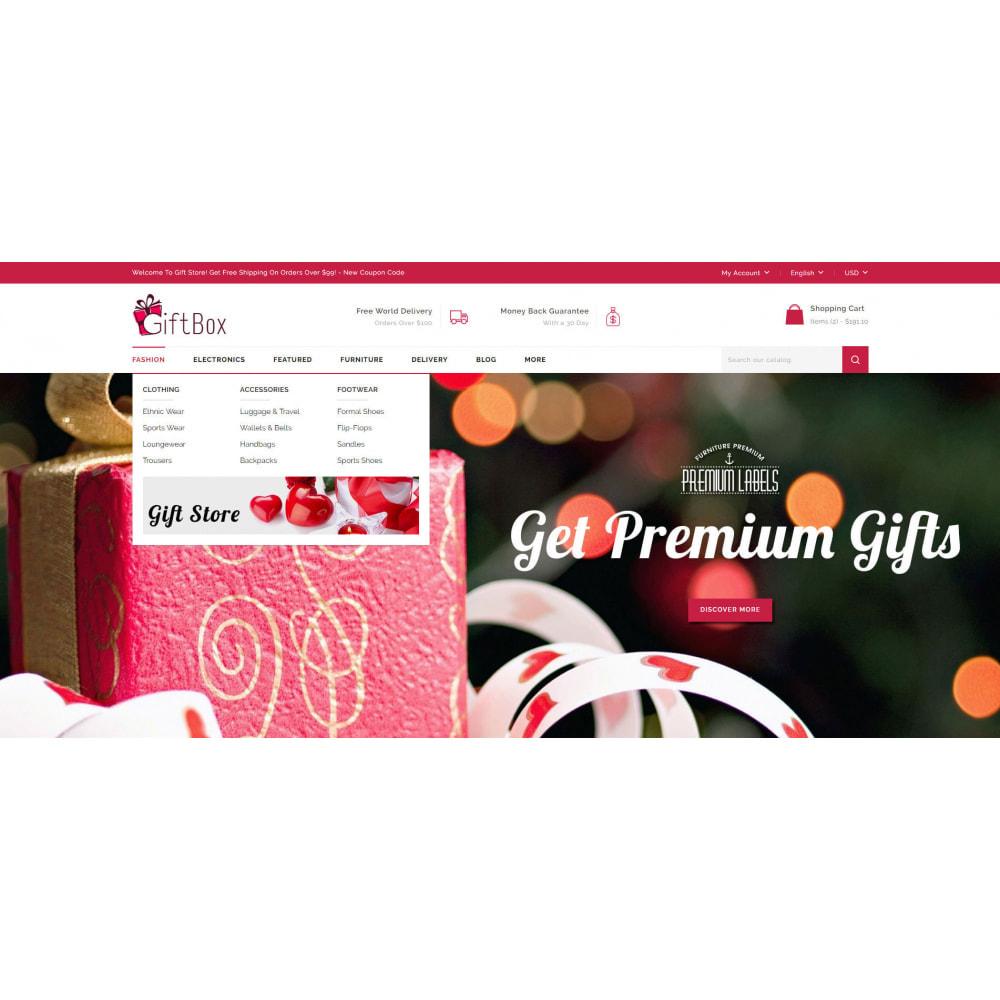 theme - Prezenty, Kwiaty & Uroczystości - Gift Box - 6