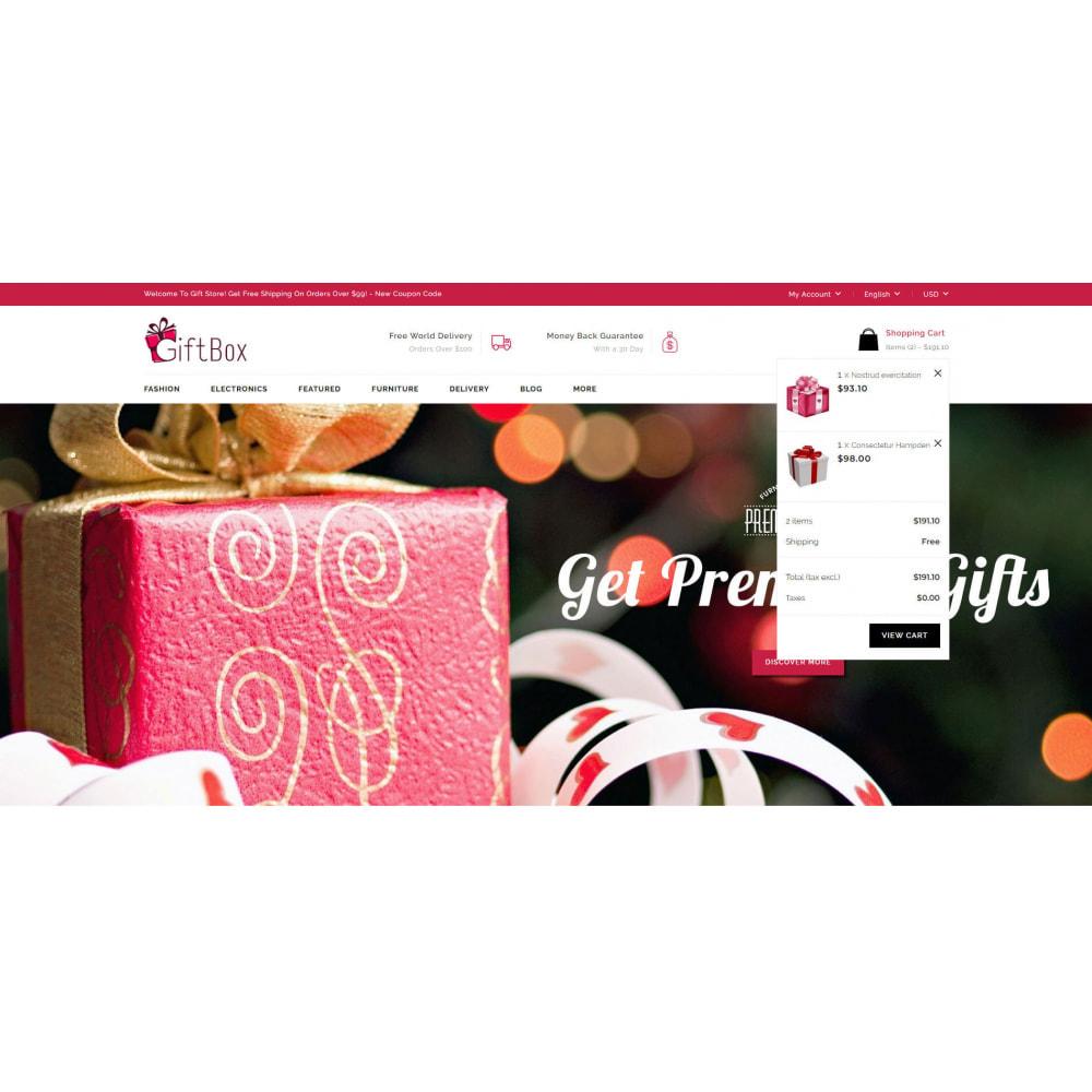 theme - Prezenty, Kwiaty & Uroczystości - Gift Box - 8
