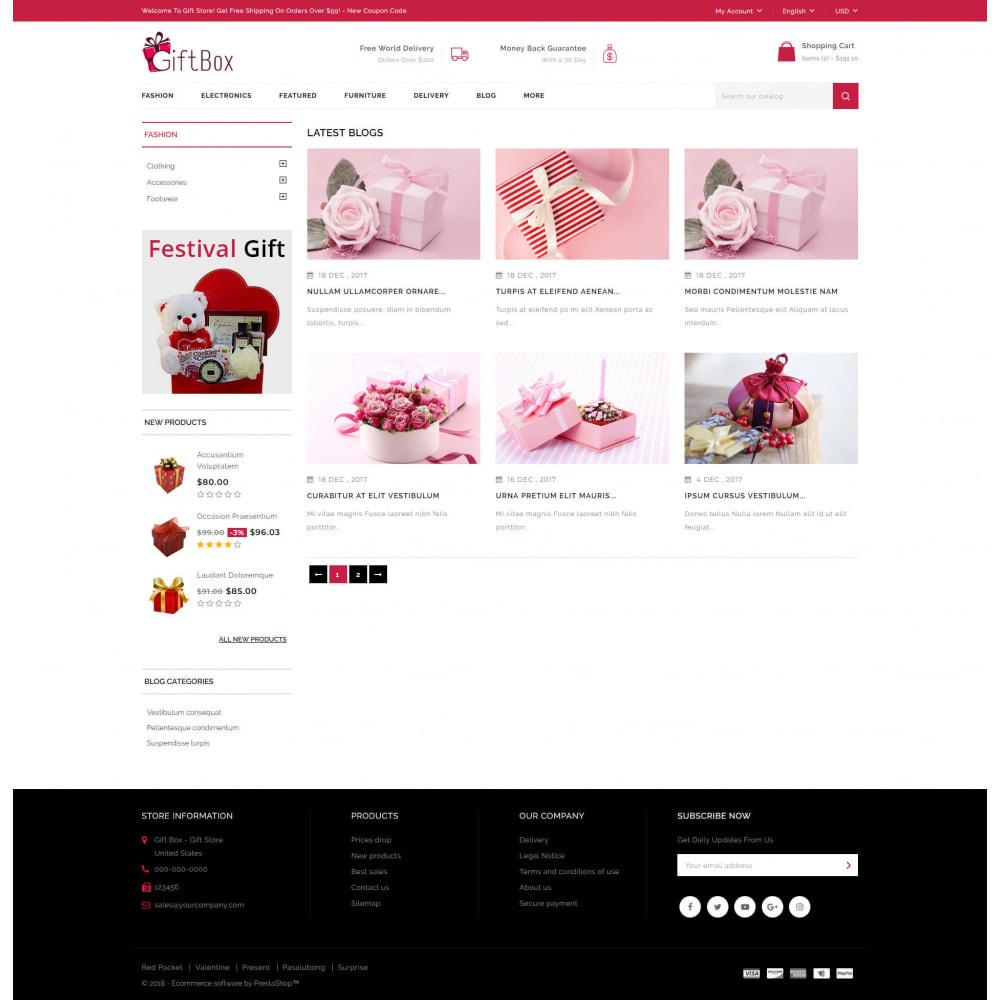 theme - Prezenty, Kwiaty & Uroczystości - Gift Box - 9