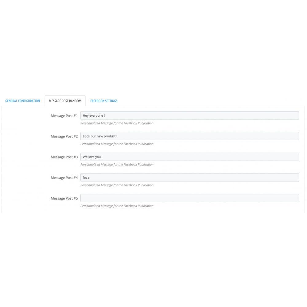 module - Produkty w serwisach społecznościowych - Auto-Post Products to FB Wall - 2