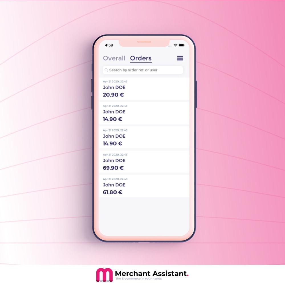 module - Dispositivos móviles - Merchant Assistant - 2