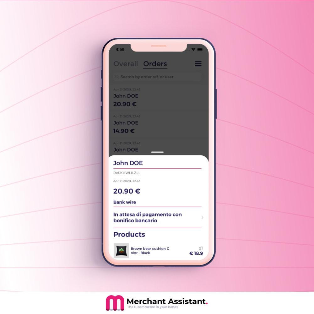 module - Dispositivos móviles - Merchant Assistant - 3