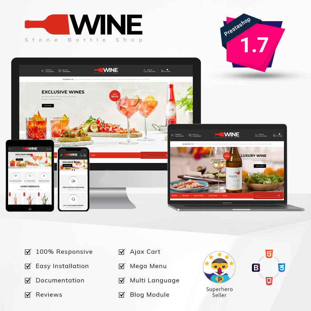 theme - Getränke & Tabak - Winestone - Liquor Shop - 1