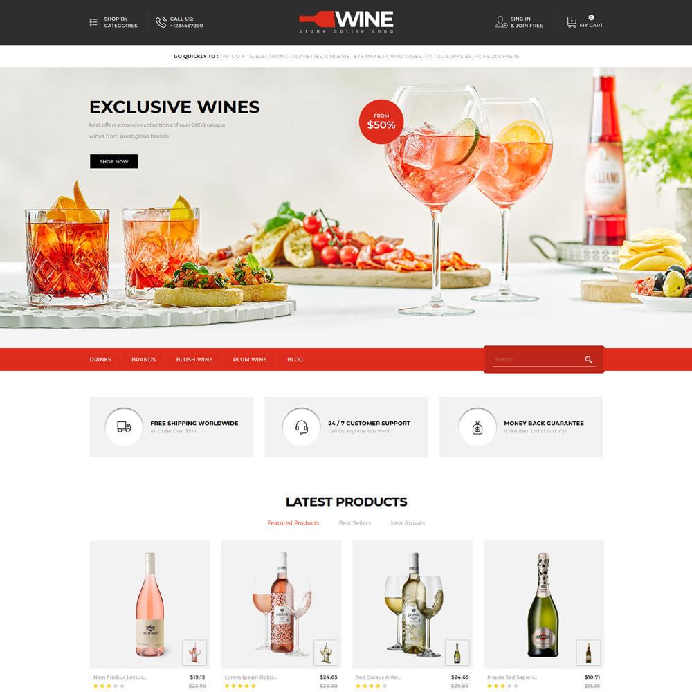 theme - Getränke & Tabak - Winestone - Liquor Shop - 2