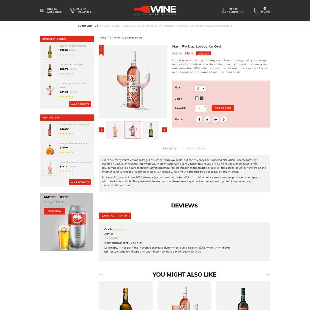 theme - Getränke & Tabak - Winestone - Liquor Shop - 4