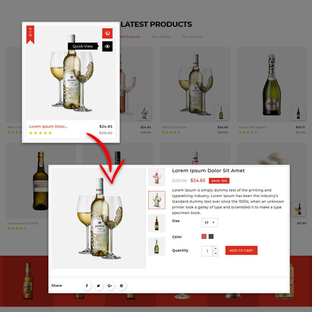 theme - Getränke & Tabak - Winestone - Liquor Shop - 7
