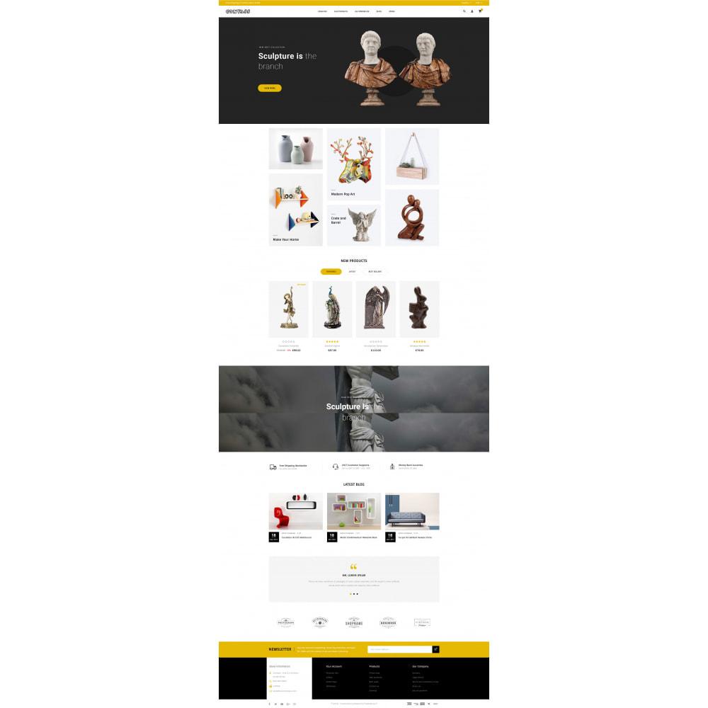 theme - Art & Culture - Convass - Art & Crafts Store - 2