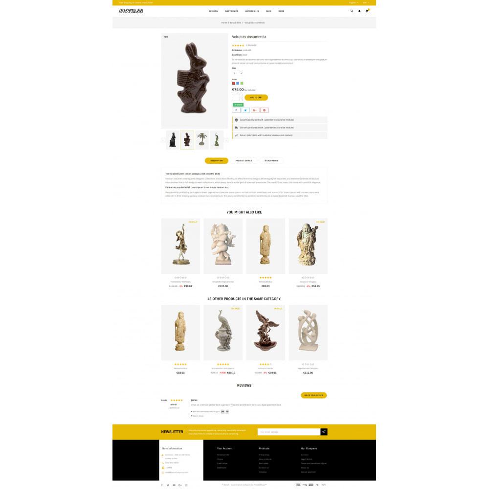 theme - Art & Culture - Convass - Art & Crafts Store - 5
