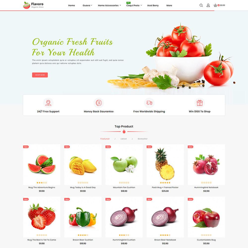 theme - Eten & Restaurant - Flavoro - Fresh Organic Food Delivery Store - 4