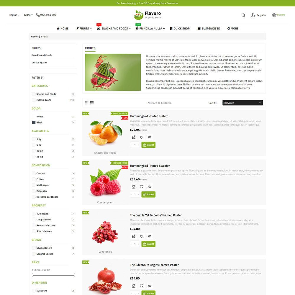 theme - Eten & Restaurant - Flavoro - Fresh Organic Food Delivery Store - 10
