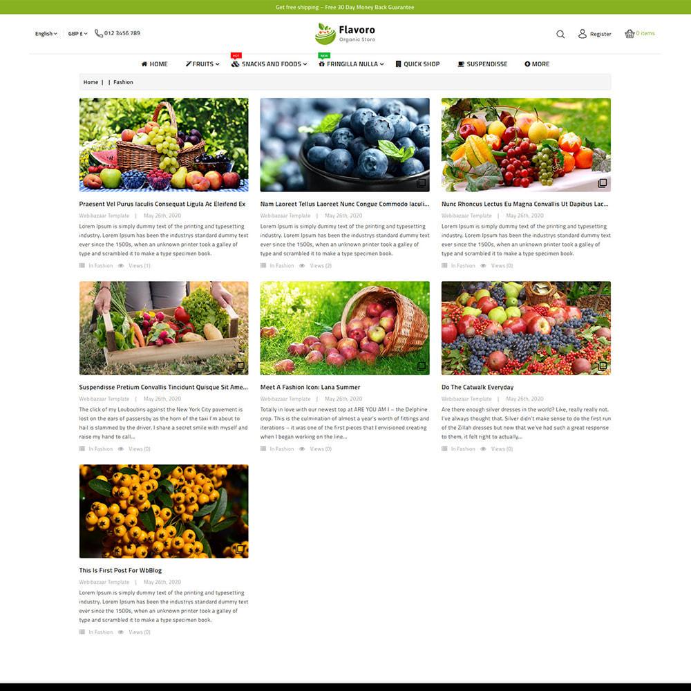 theme - Eten & Restaurant - Flavoro - Fresh Organic Food Delivery Store - 11