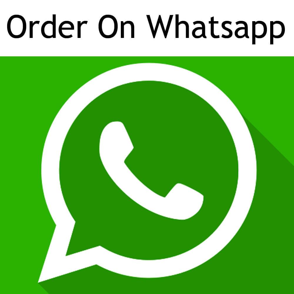 module - Inscription & Processus de commande - Commander sur WhatsApp à partir de n'importe - 1