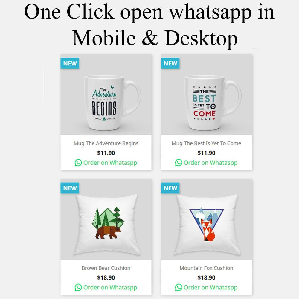 module - Iscrizione e Processo di ordinazione - Ordina su whatsapp da qualsiasi pagina di categoria - 4