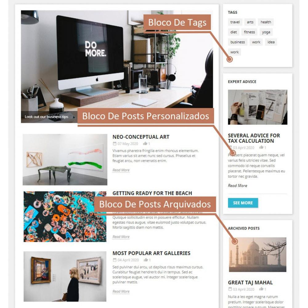 module - Blog, Fórum & Notícias - Business Blog Pro - 2