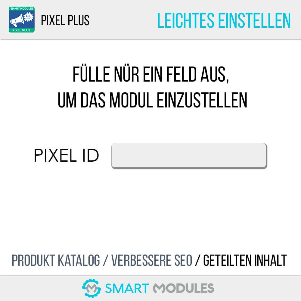 module - Analysen & Statistiken - Pixel Plus: Events + Conversions API + Pixel Katalog - 6