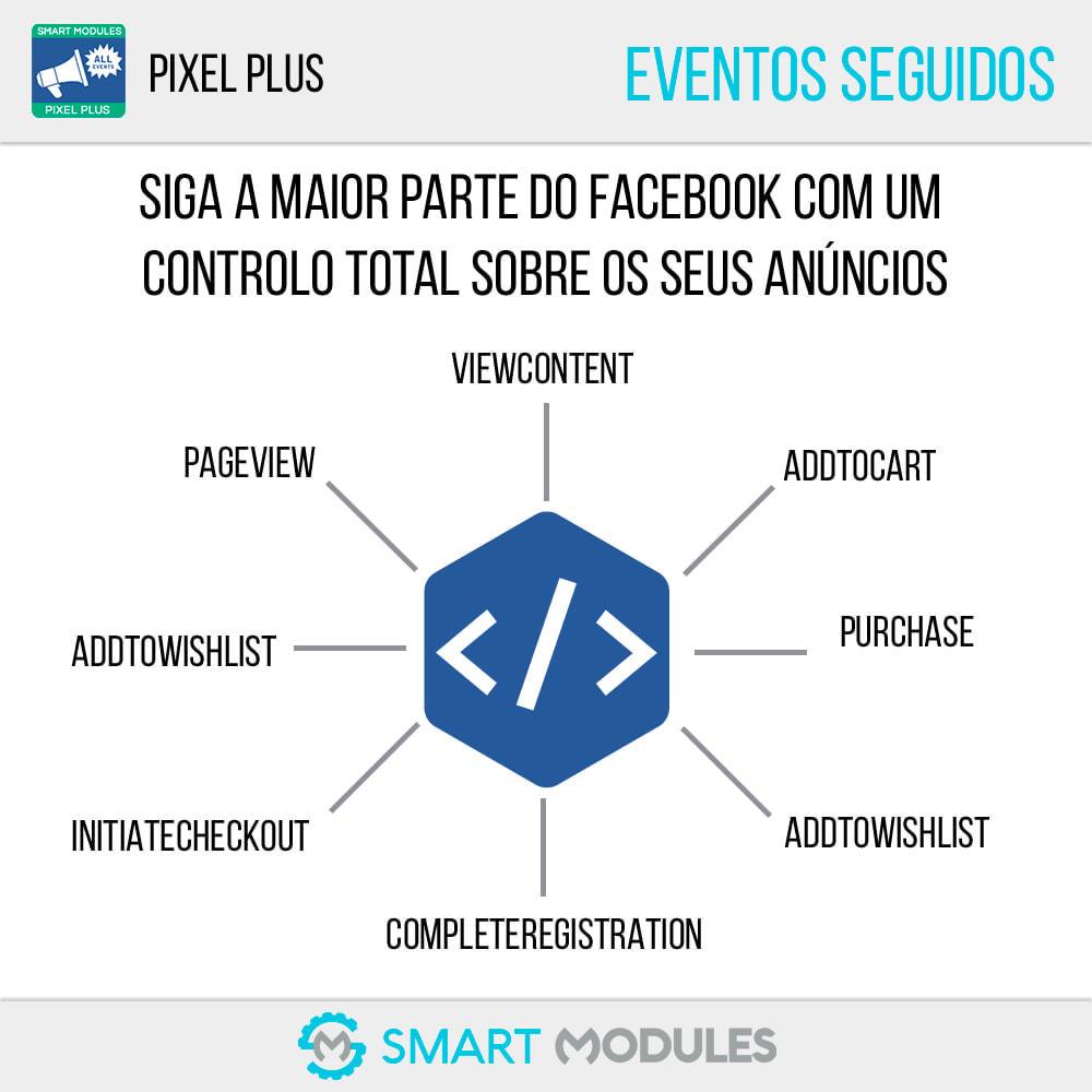 module - Análises & Estatísticas - Pixel Plus: Eventos + Conversions API + Pixel Catalogue - 2