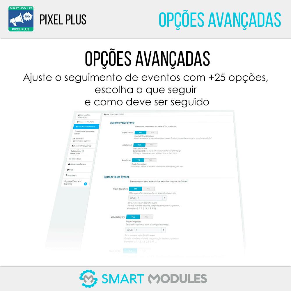 module - Análises & Estatísticas - Pixel Plus: Eventos + Conversions API + Pixel Catalogue - 7