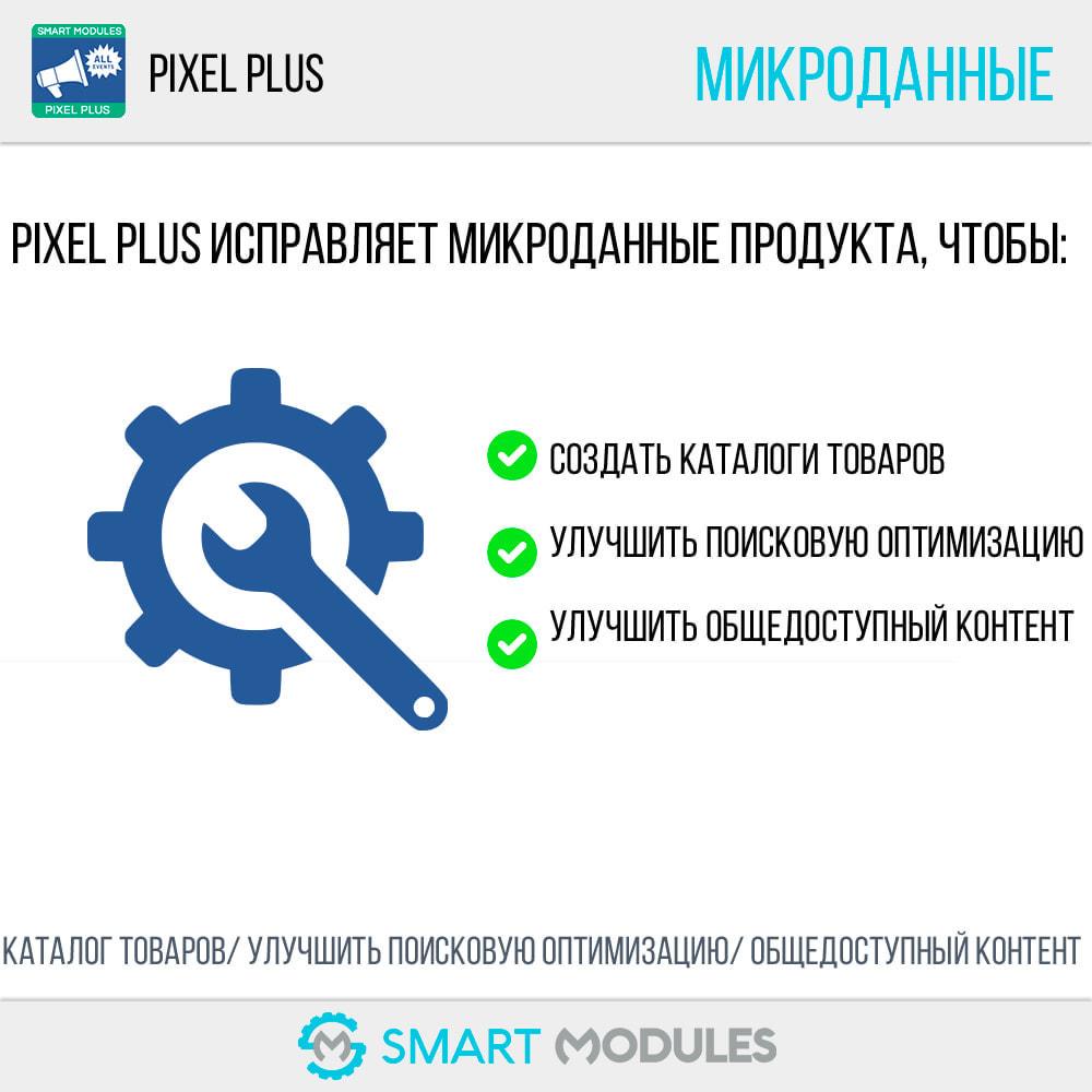 module - Статистика и анализ - Pixel Plus: События + API Конверсия+ Каталог Пиксель - 8