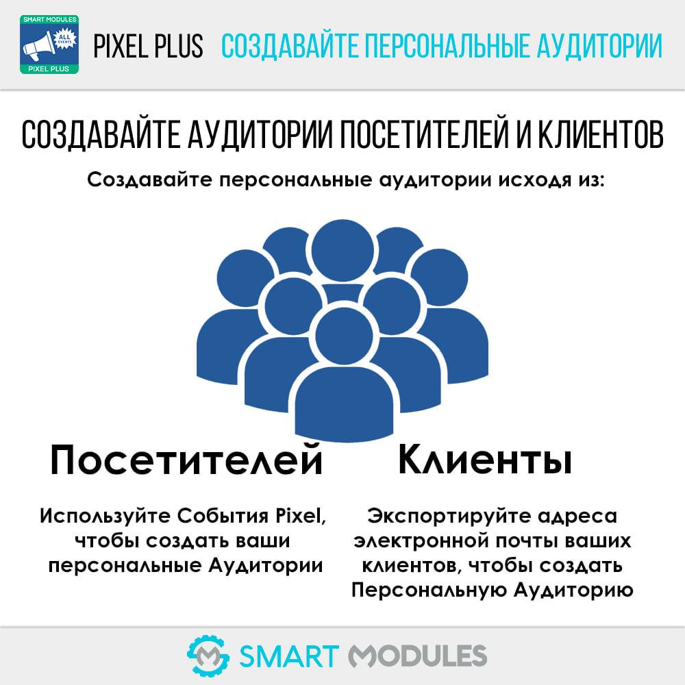 module - Статистика и анализ - Pixel Plus: События + API Конверсия+ Каталог Пиксель - 13