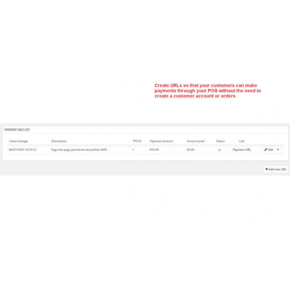module - Paiement par Carte ou Wallet - REDSYS POS (Refunds + Bizum + Pay without order) - 8