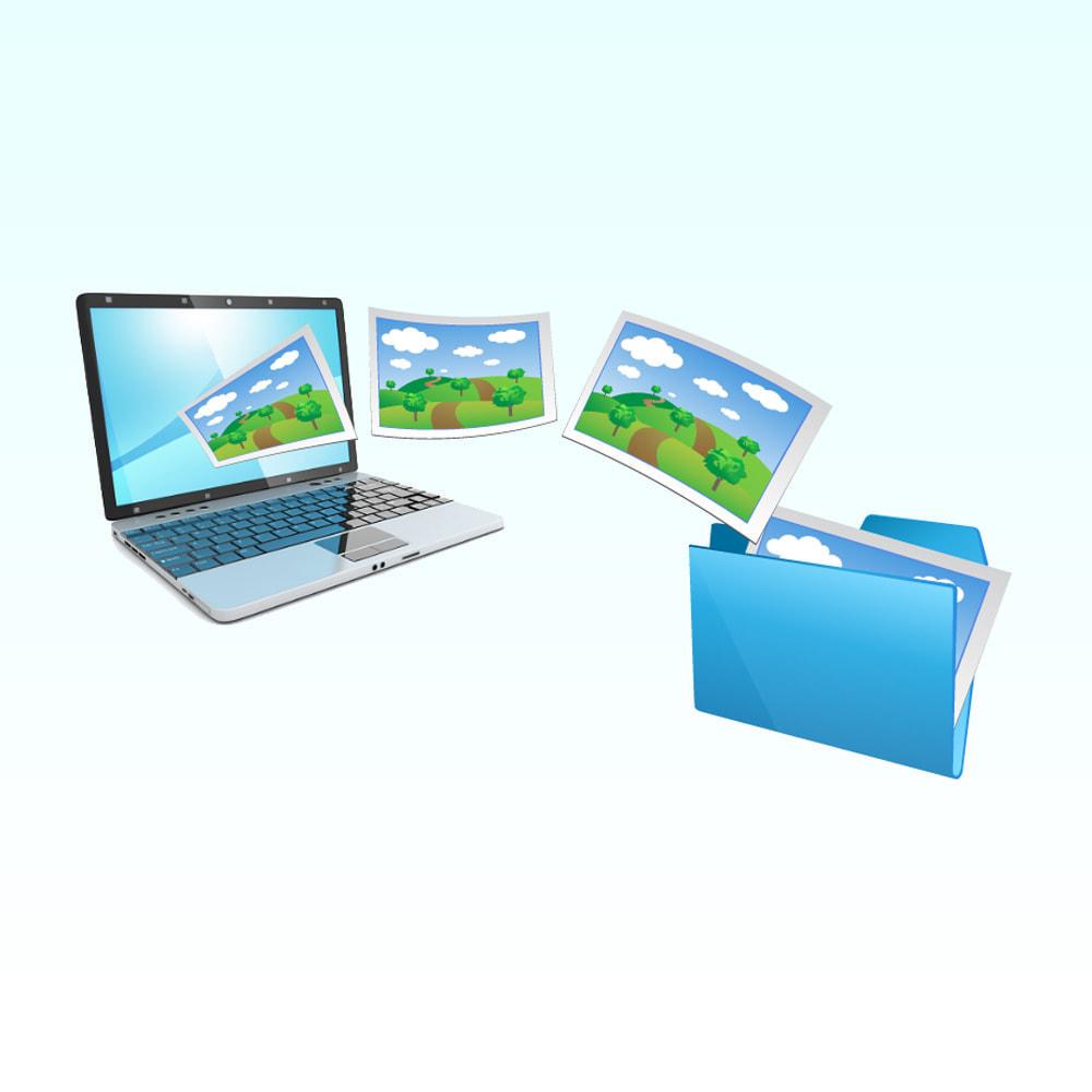 module - Edição rápida & em massa - Import images in product - 12
