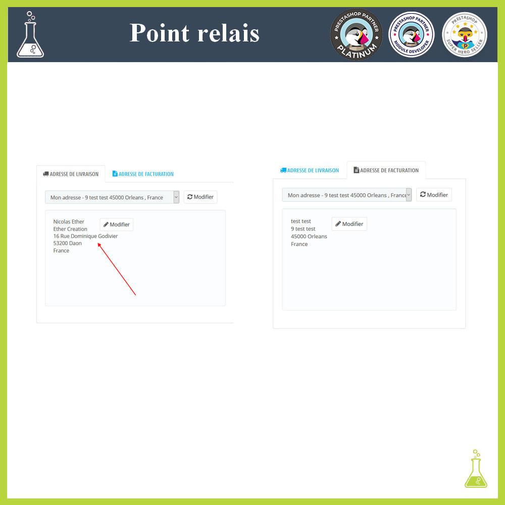 module - Point Relais & Retrait en Magasin - Gérer vos points relais - 7