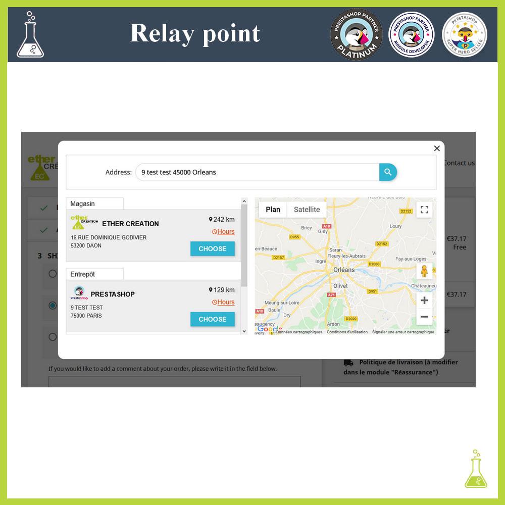 module - Paczkomaty & Odbiór w sklepie - Manage your relay points - 3