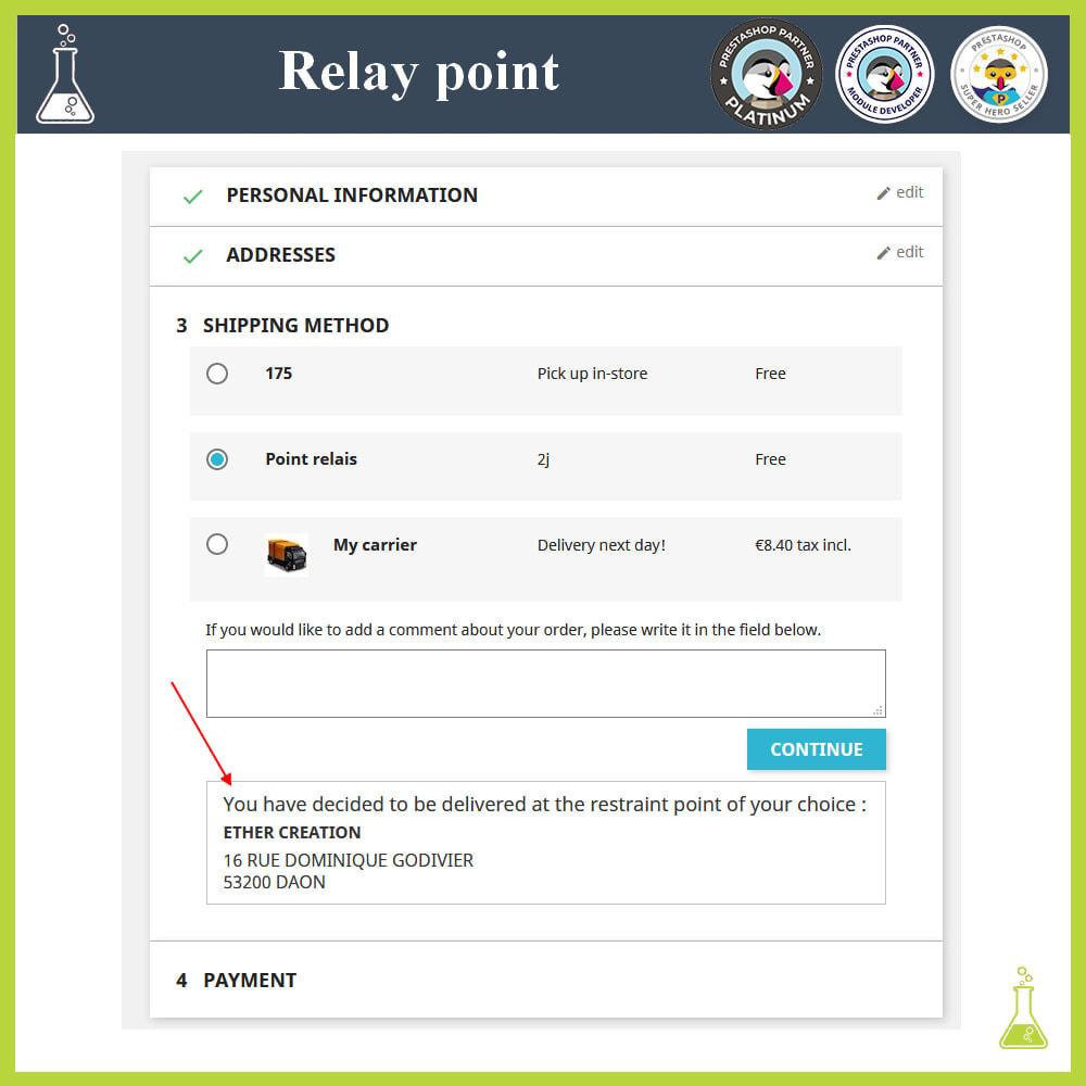 module - Paczkomaty & Odbiór w sklepie - Manage your relay points - 6