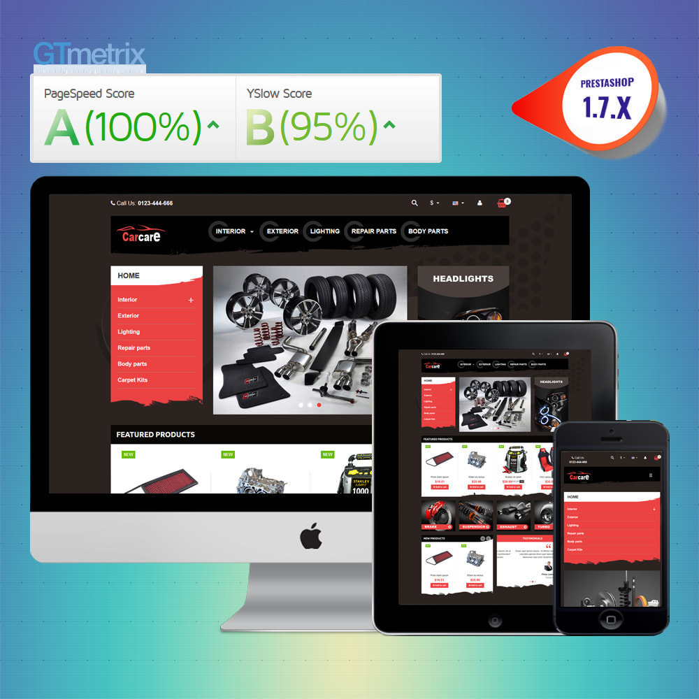 theme - Coches y Motos - VP_CarCare - Page Builder - 1