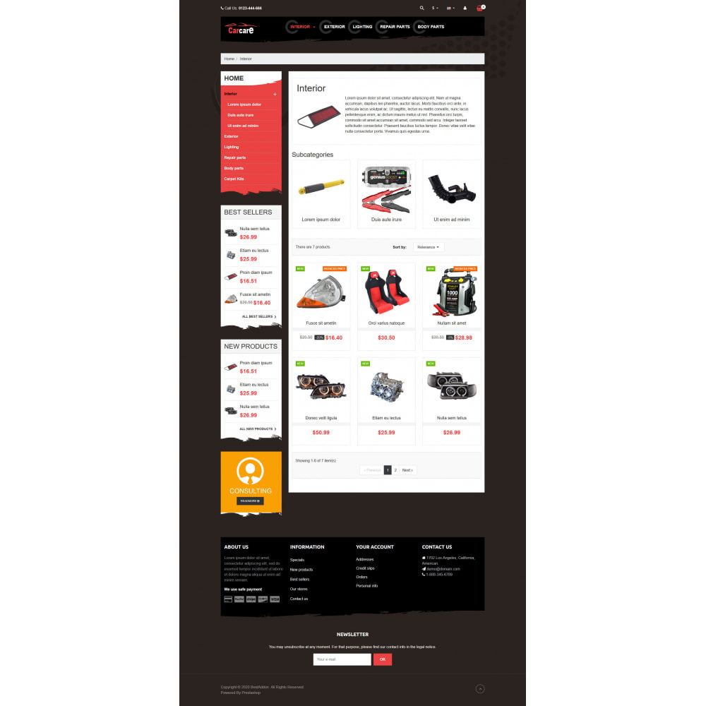 theme - Coches y Motos - VP_CarCare - Page Builder - 3