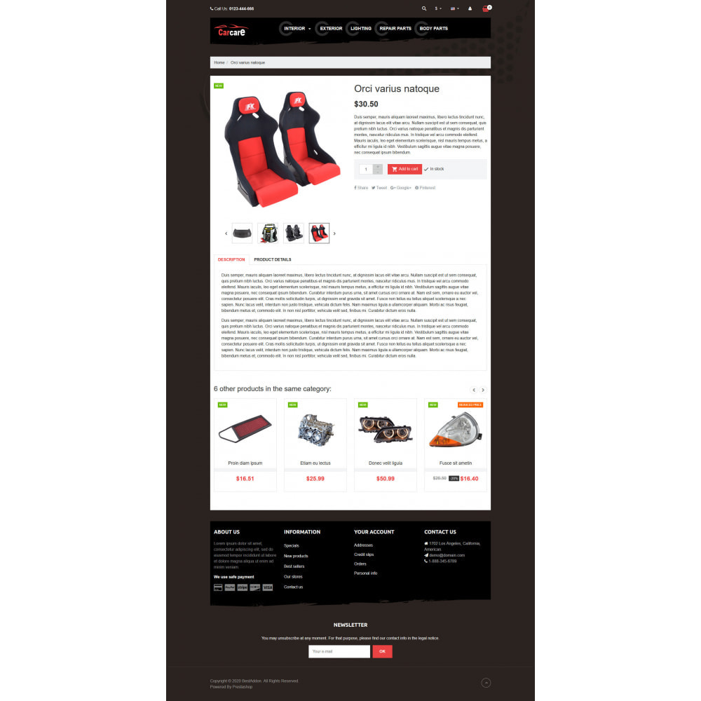 theme - Coches y Motos - VP_CarCare - Page Builder - 4