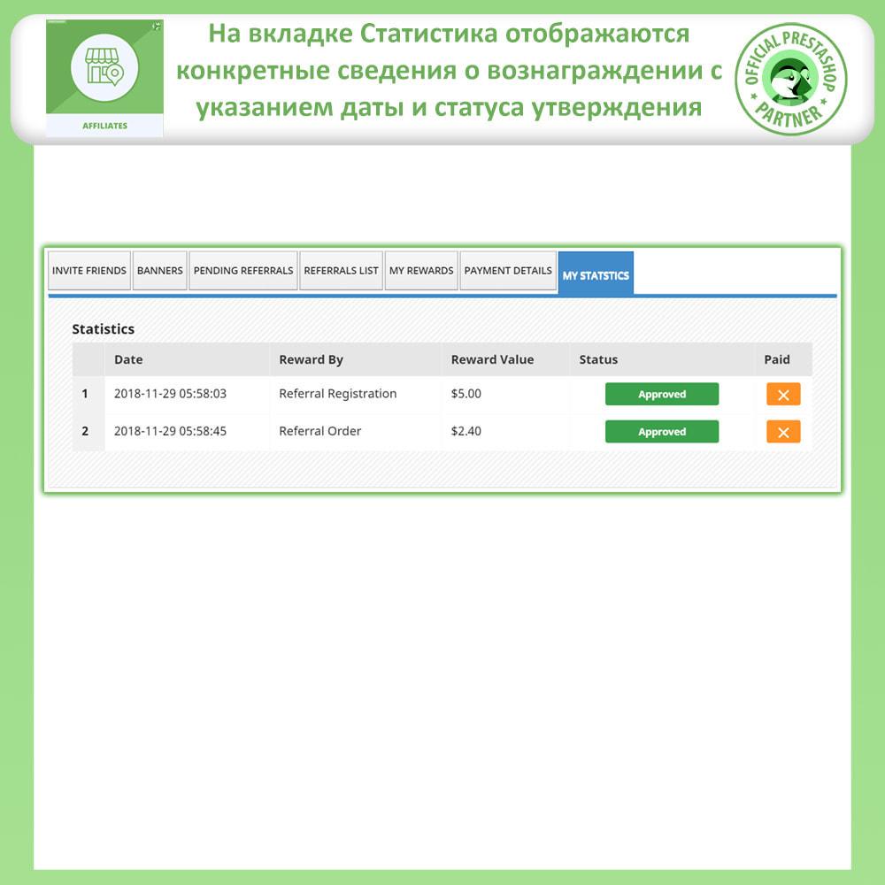 module - Платная поисковая оптимизация - Партнерская и реферальная программа - 10