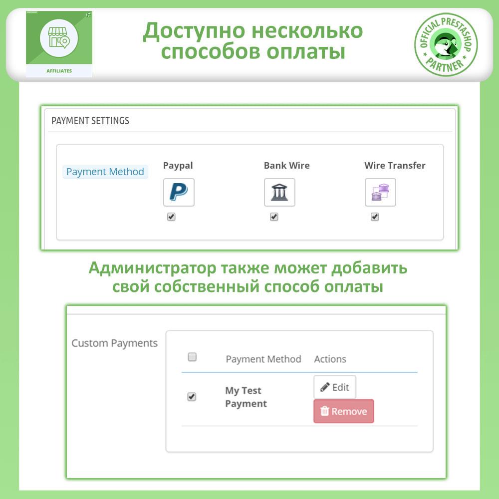 module - Платная поисковая оптимизация - Партнерская и реферальная программа - 16
