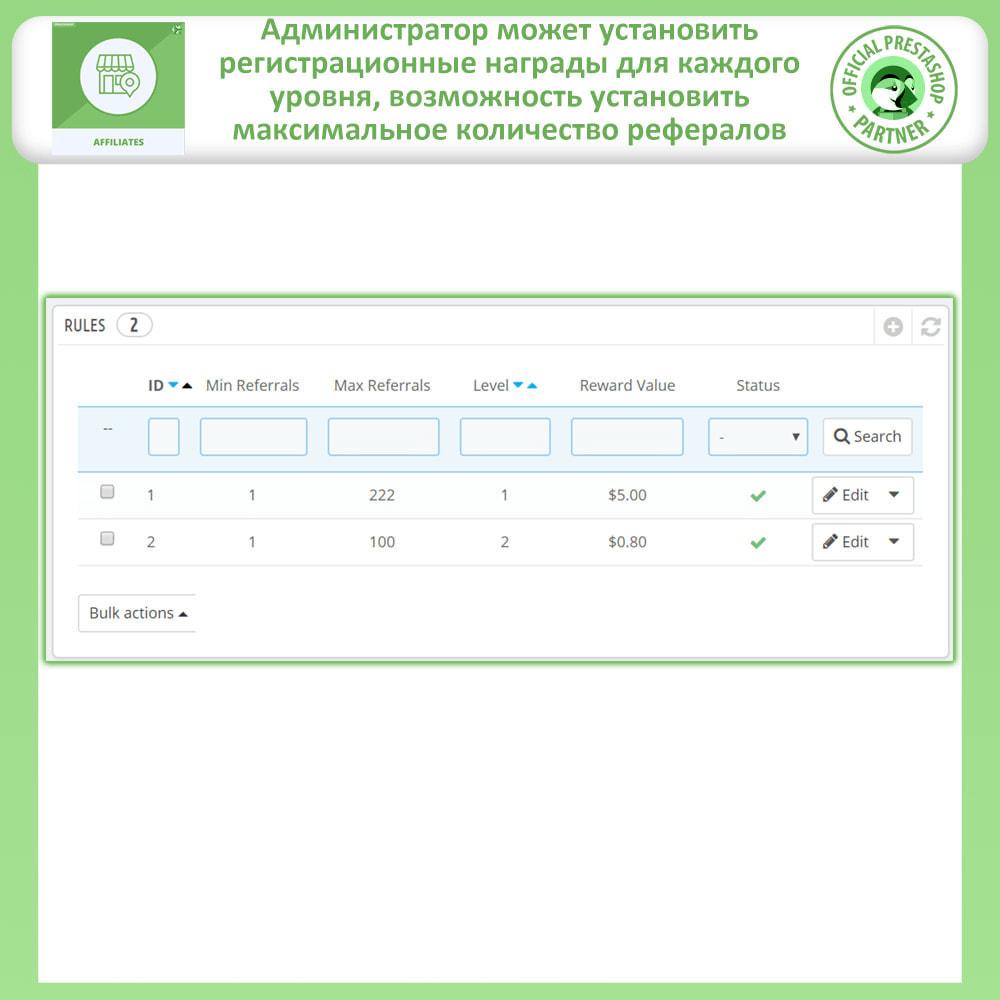 module - Платная поисковая оптимизация - Партнерская и реферальная программа - 19