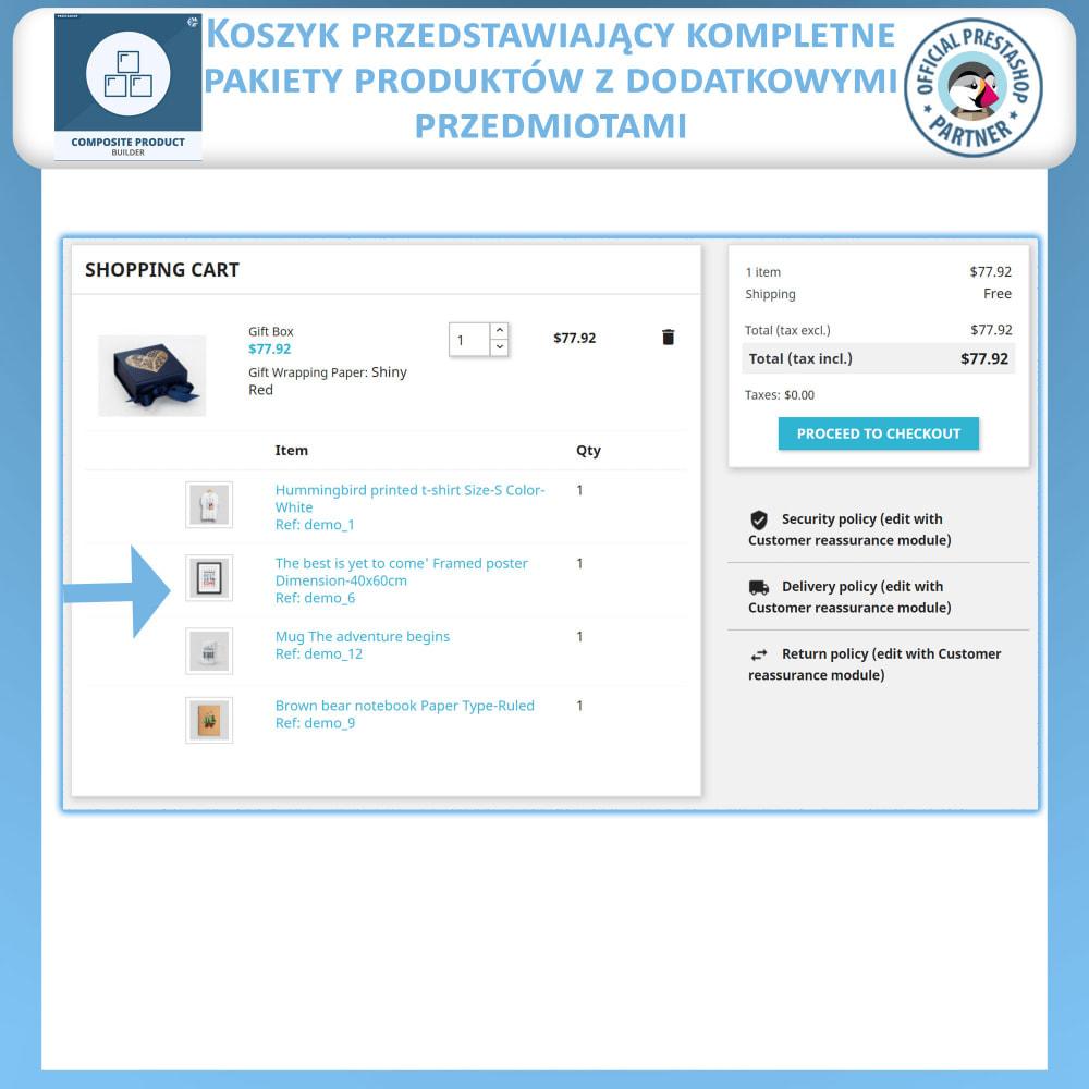 module - Sprzedaż krzyżowa & Pakiety produktów - Konstruktor Produktów Kompozytowych - 7
