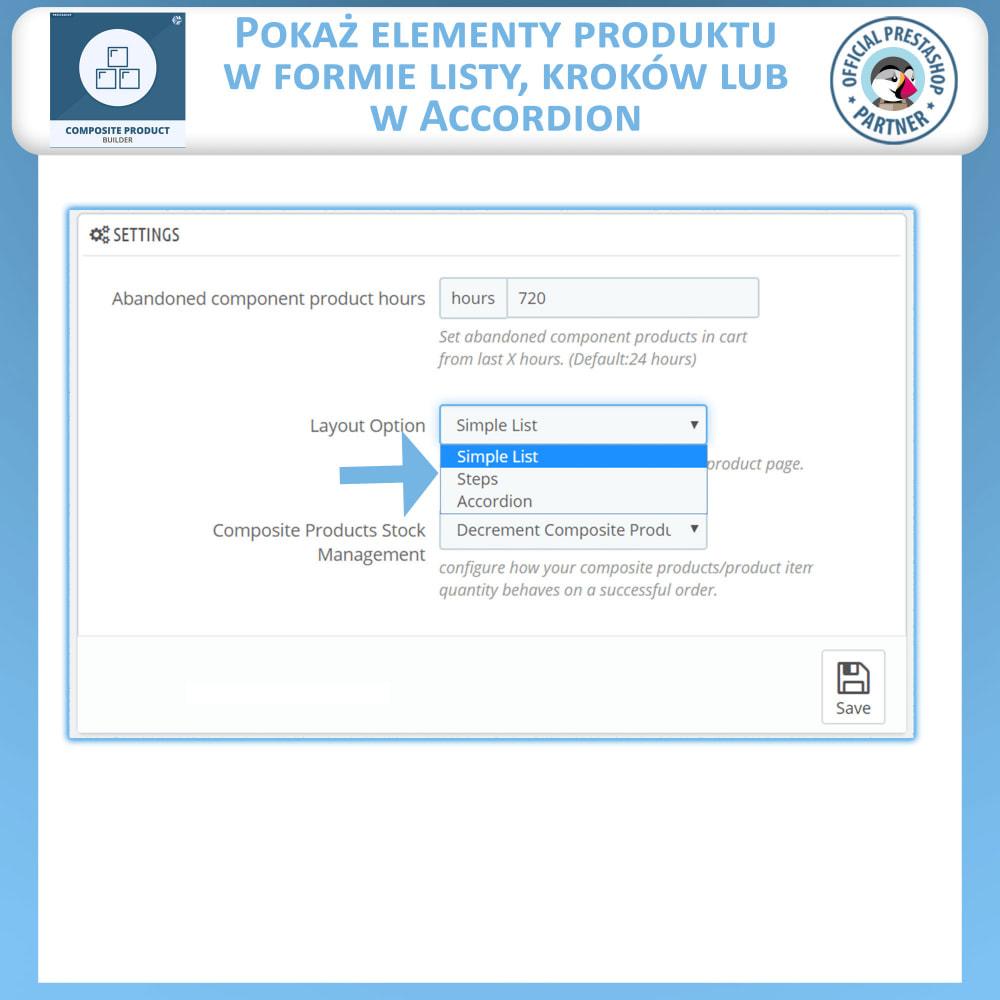 module - Sprzedaż krzyżowa & Pakiety produktów - Konstruktor Produktów Kompozytowych - 9