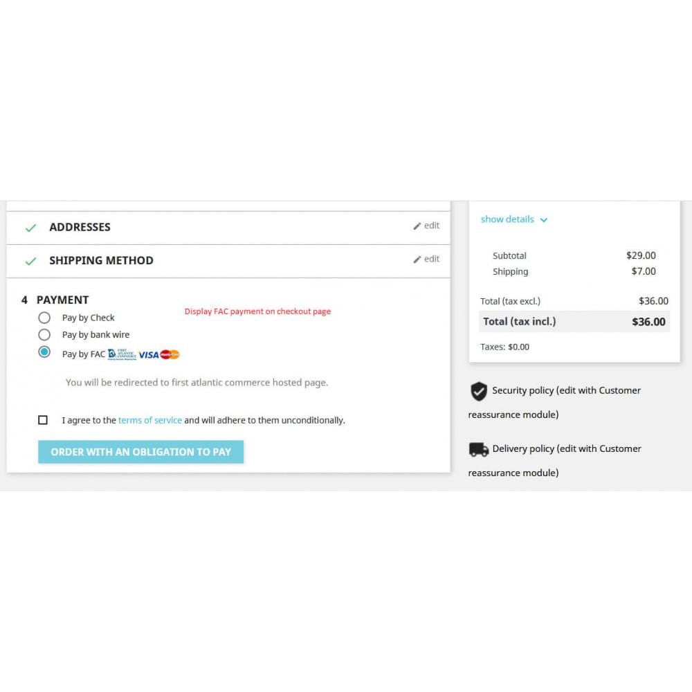 module - Płatność kartą lub Płatność Wallet - First Atlantic Commerce (FAC) Payment - 4