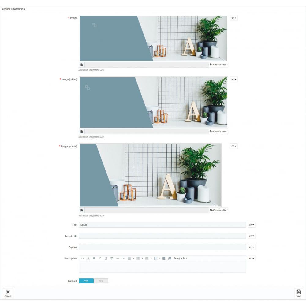 module - Sliders & Galeries - Responsive Slider Pro - 5