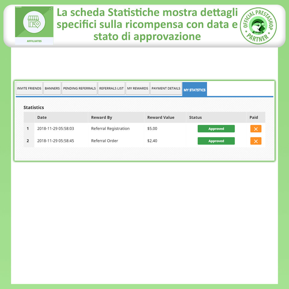 module - Indicizzazione a pagamento (SEA SEM) & Affiliazione - Affiliati e programma referral - 10