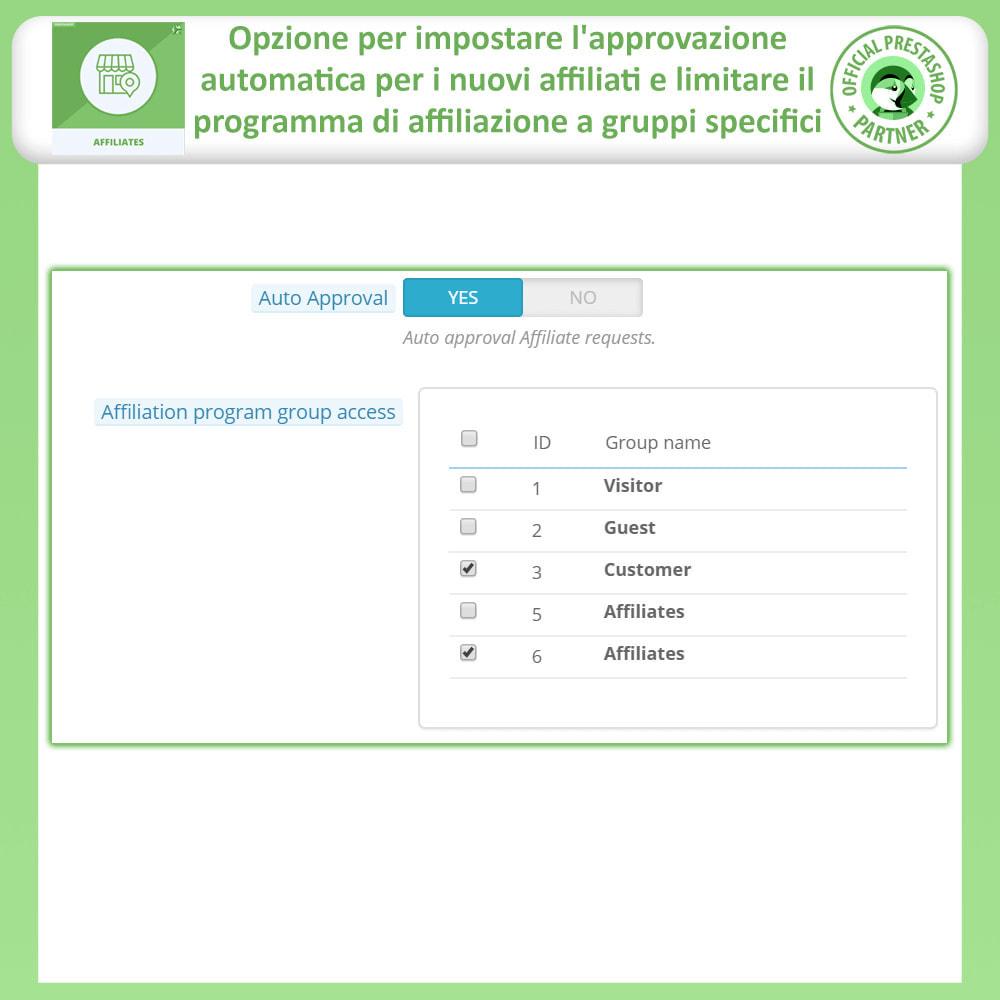 module - Indicizzazione a pagamento (SEA SEM) & Affiliazione - Affiliati e programma referral - 14