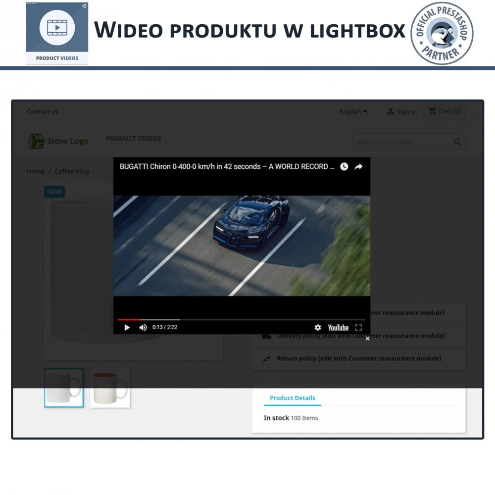 module - Wideo & Muzyka - Product Videos - Upload or Embed YouTube, Vimeo - 5