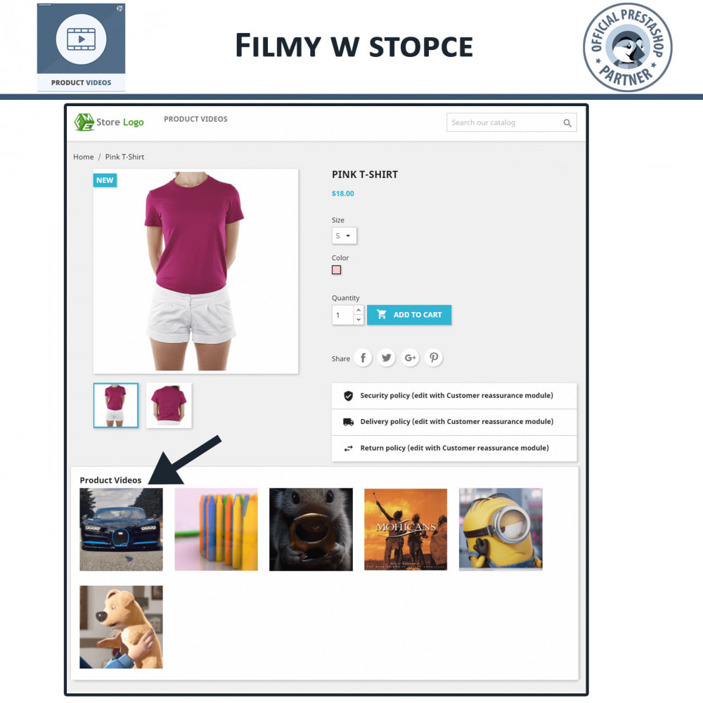 module - Wideo & Muzyka - Product Videos - Upload or Embed YouTube, Vimeo - 6