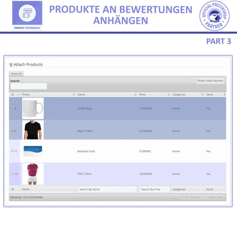 module - Kundenbewertungen - Kunden Produktbewertungen + Shop Bewertungen - 6