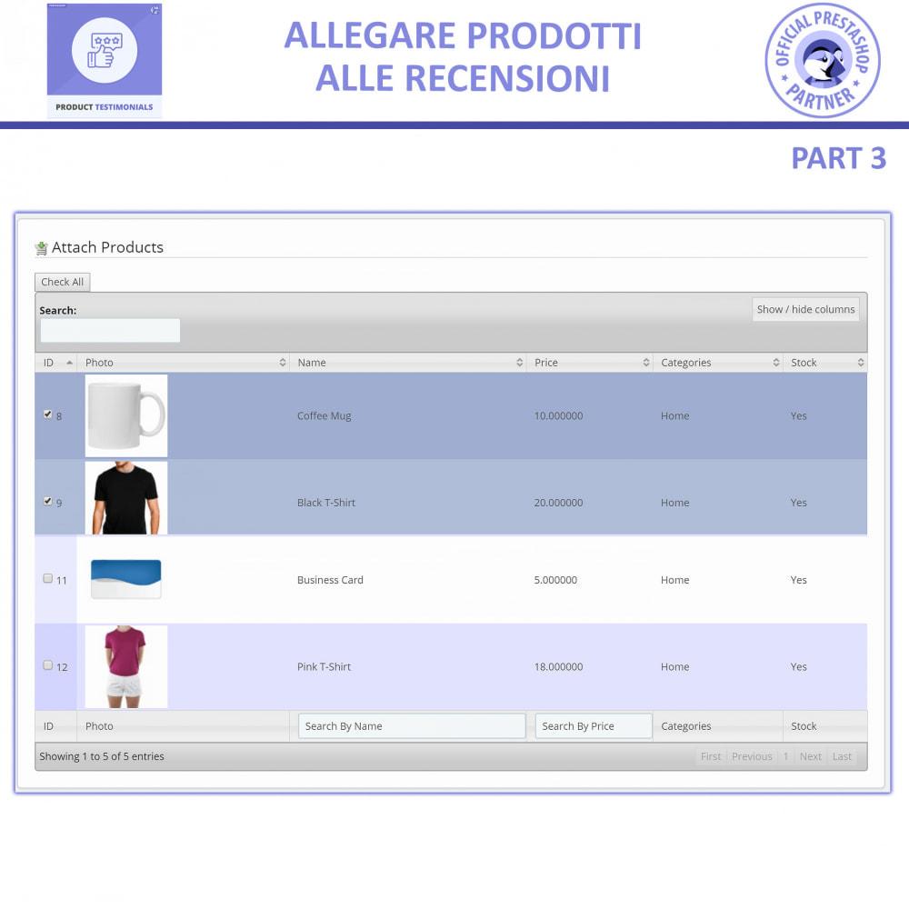 module - Recensioni clienti - Recensioni di Prodotti Clienti + Recensioni di Negozio - 6
